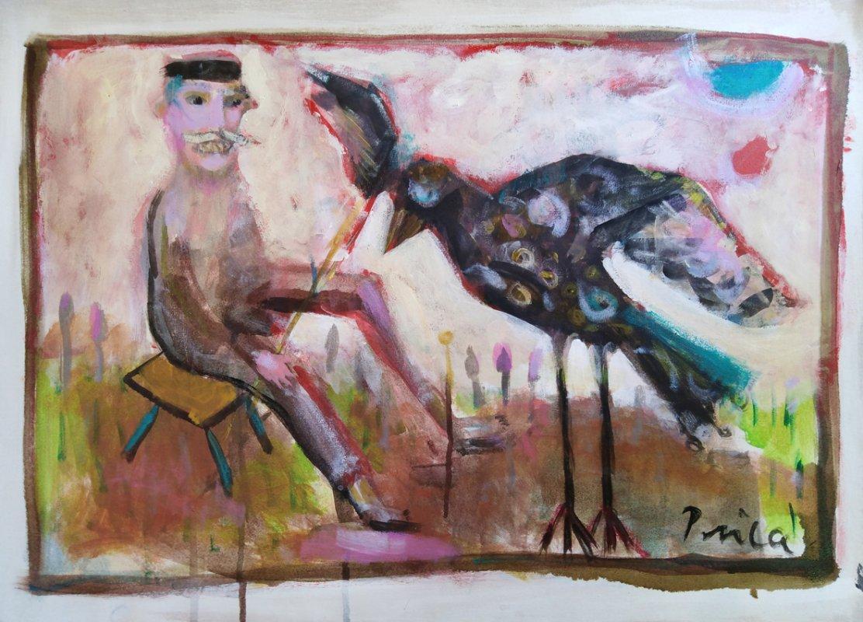 Licanin koji je pripitomio pticu