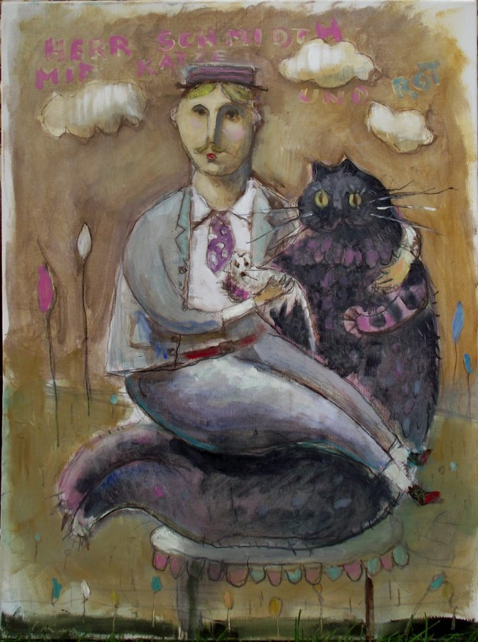 Gospodin Šmit,mačka i pacov