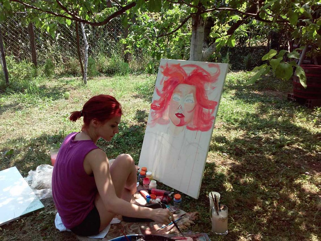 albanian artist fiona